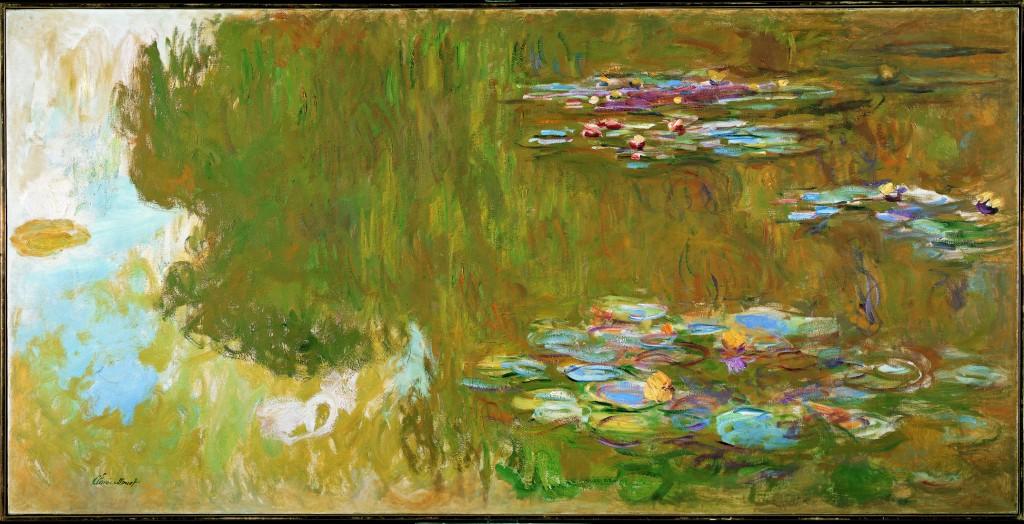 C. Monet: Jezero s lekníny